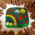 Esprimete un pensiero sull'arcobaleno