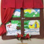 Realizzare una finestra con panorama natalizio